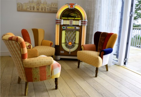 QUIRKY HARLEQUIN CHAIRS