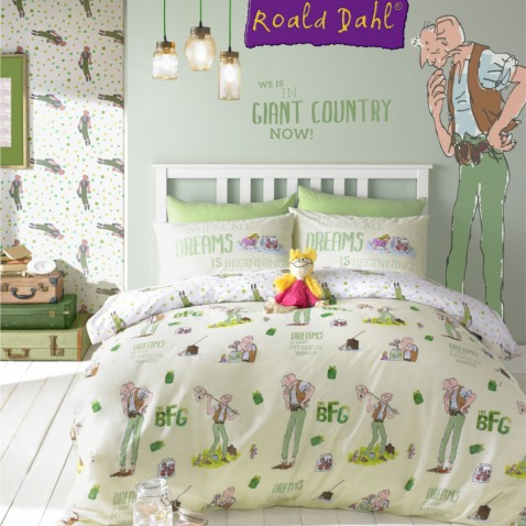 ROALD DAHL BEDDING FOR KIDS UP TO 40% OFF