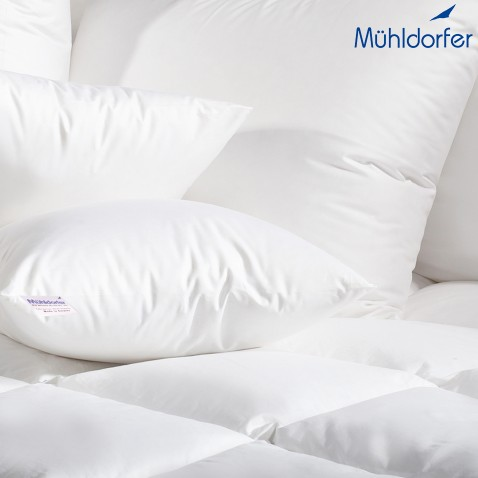 EXPERIENCE MUHLDORFER DUVETS AND PILLOWS