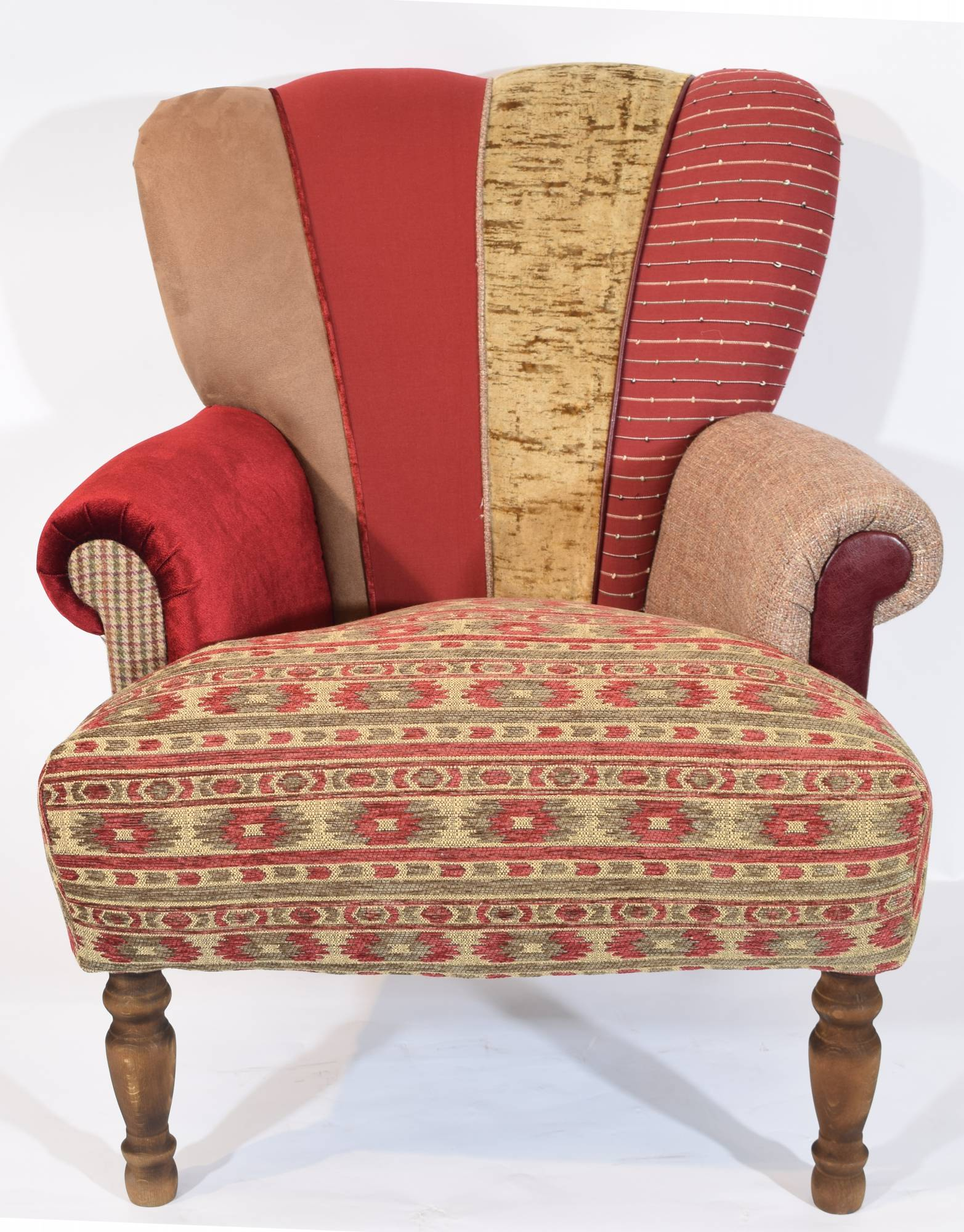 Our furniture quirky harlequin chair 104 sold for Quirky furniture