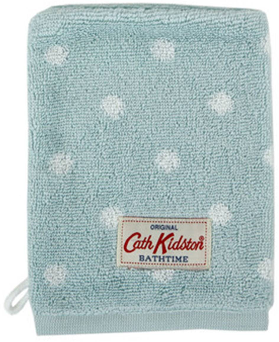Cath Kidston Large Spot Towel Duck Egg Towels