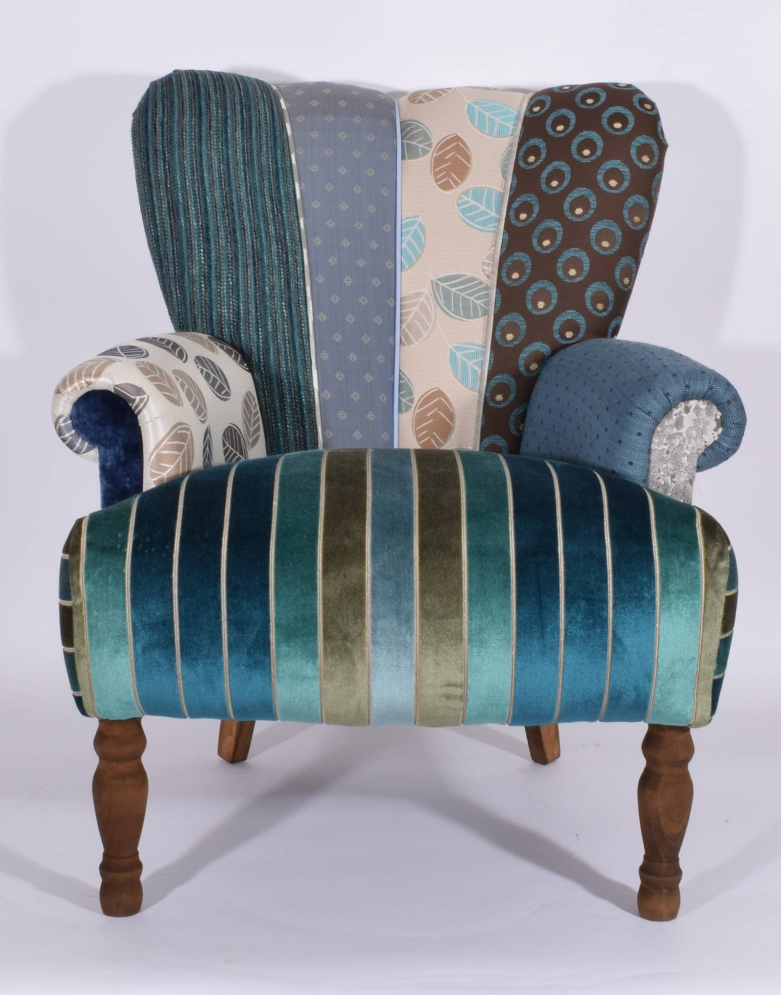 quirky harlequin chair 233 sold   bedroom furniture