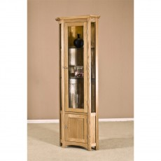 Our Furniture Carvalho CORNER DISPLAY CABINET