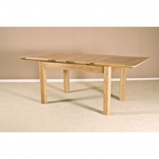 "Our Furniture Carvalho 4'6"" EXTENDING TABLE (2 LEAF)"