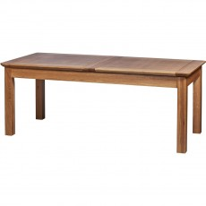 "Our Furniture Carvalho 6'8"" EXTENDING TABLE (2 LEAF)"
