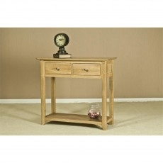 Our Furniture Carvalho CONSOLE TABLE 2 DRAWER