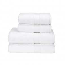 Christy Supreme Hygro White Towel Collection