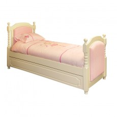 The Childrens Bedroom Company Majestical Girls Bed Upholstered