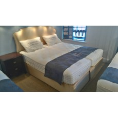 Vispring Sublime Superb Divan Set 6'0 (S/King) zip and link