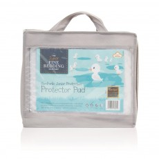 The Fine Bedding Company Junior Range Cotbed Mattress Protector Pad