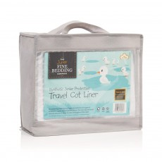 The Fine Bedding Company Junior Range Travel Cot Liner