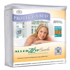 Protect-A-Bed Allerzip Smooth Waterproof Mattress Protector