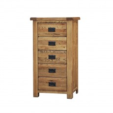 Our Furniture Normandy 5 DRAWER WELLINGTON CHEST