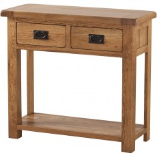 Our Furniture Normandy CONSOLE TABLE 2 DRAWER