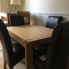 Xanadu Dining Table w/ 4 Fletton chairs