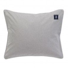 Grand Design Oxford Chambray Grey Pillowcase