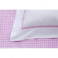 Studio Collection Gingham Pink Duvet Cover