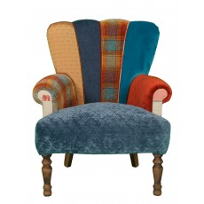 Quirky Harlequin Chair 398 SOLD