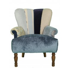 Quirky Harlequin Chair 416 SOLD