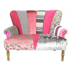 Quirky Harlequin Love Seat 17