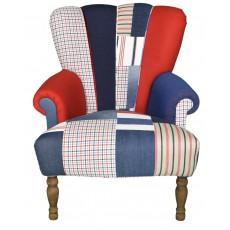 Quirky Harlequin Chair 452 - SOLD
