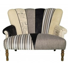 Quirky Harlequin Love Seat 19