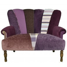 Quirky Harlequin Love Seat 21