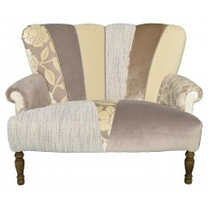 Quirky Harlequin Love Seat 22