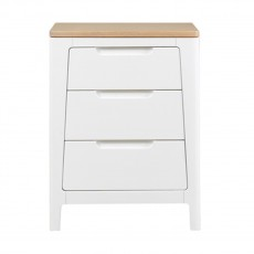 Our Furniture Ella 3 Drawer Nightstand
