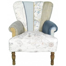 Quirky Harlequin Chair 505