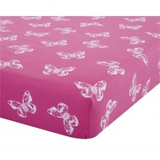 Catherine Lansfield Butterfly Fitted Sheet