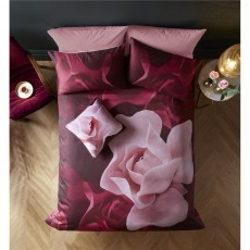 Ted Baker Porcelain Rose Aubergine Housewife Pillowcase Pair