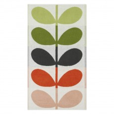 Orla Kiely Large Stem Duck Egg Towel