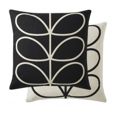 Orla Kiely Linear Stem Slate Feather Filled Cushion