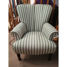Salcombe Poppy Stripe Chair