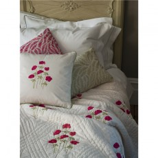 Sibona Anenomes Cushion Cover in Red