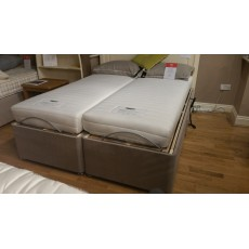 "Dreamworks  5'0"" King - Annabelle Adjustable Bed with 4 drawers with Pocket Motion Mattress"