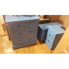 TCBC Majestical 2 Drawer Bedside - CLEARANCE