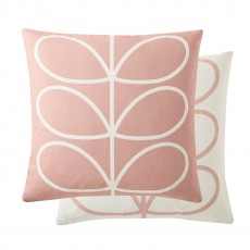 Orla Kiely Linear Stem Pale Rose Feather Filled Cushion