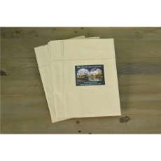 Studio Collection 100% Cotton 220 TC Cream Housewife Pillowcase