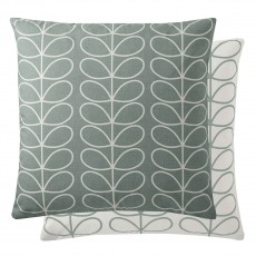 Orla Kiely Small Linear Stem Duck Egg Feather Filled Cushion