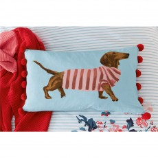 Joules Falmouth Floral Falmouth Dogs Cushion