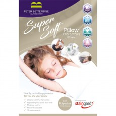 Peter Betteridge Protectors Super Soft Pillow Protector (Pair)