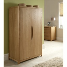 Winsor Furniture Ltd. Tempo Bedroom Collection 2 Door Wardrobe