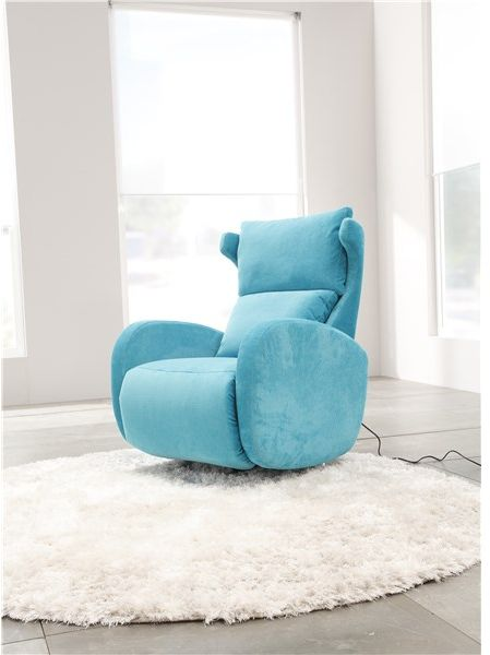 Fama Kim Electric Relax Armchair in Ciervo Leather
