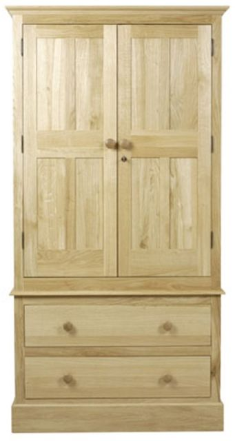 C.F.S Hunston Collection Two Drawer Wardrobe