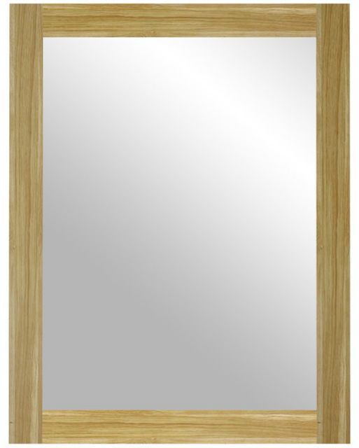C.F.S Hunston Collection Oak Framed Mirror