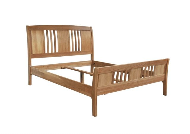 Our Furniture Cortona HIGH FOOT END SLEIGH BED