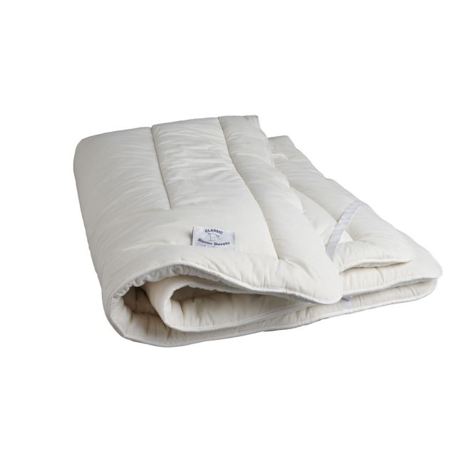 Devon Duvets Mattress Toppers Wool Filled