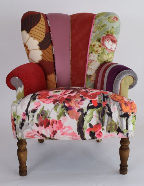 Quirky Bedroom Furniture Quirky Harlequin Chair 266 Bedroom Furniture